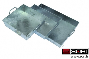 Heated galvanized tray - SORI