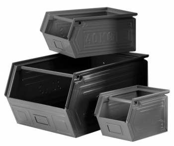 Metal storage bins - SORI