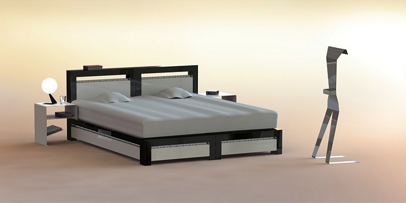 mobilier design m tallique contemporain sori fabricant fran ais. Black Bedroom Furniture Sets. Home Design Ideas